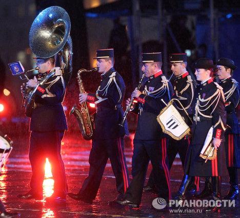 Festival des fanfares militaires à Moscou