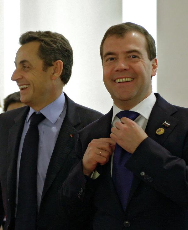 G20: Dmitri Medvedev lors du sommet de Séoul