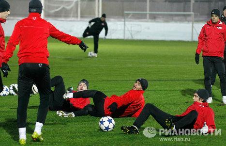 Ligue des Champions: le Spartak Moscou et l'OM à la veille d'un match décisif