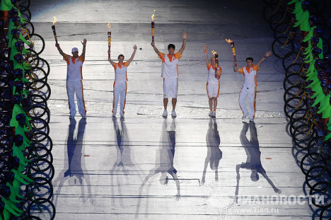 Церемония открытия Универсиады-2011