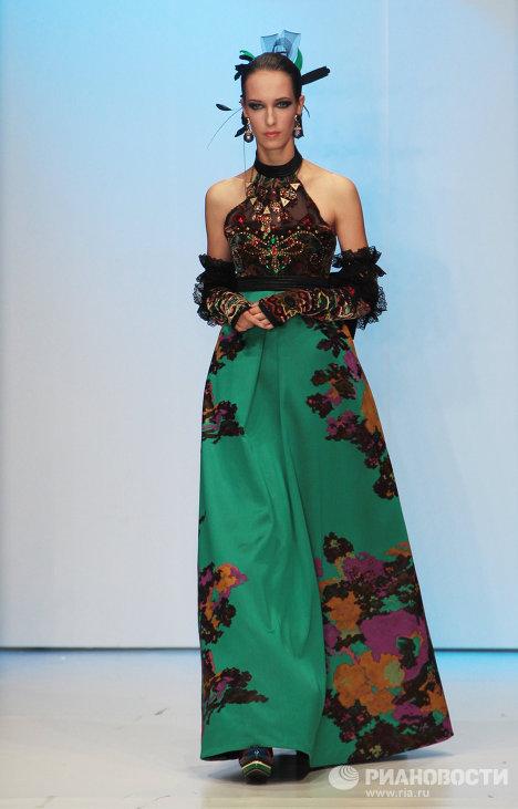 Russie: défilé Zaïtsev lors de la semaine de la mode