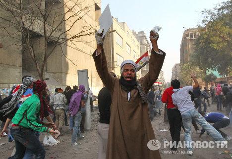 Беспорядки в столице Египта