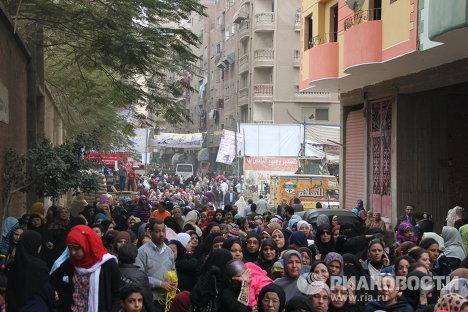 Второй этап парламентских выборов в Египте