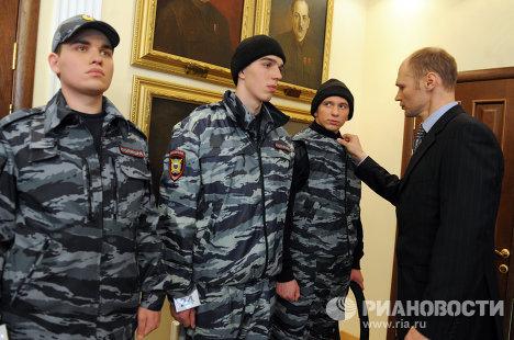 Презентация новой формы и удостоверений для сотрудников МВД РФ