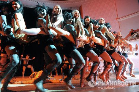 Балет по мотивам произведений Н.В.Гоголя Ночь на лысой горе в исполнении ансамбля Игоря Моисеева
