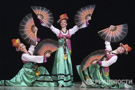 Концерт Ансамбля Моисеева в ГЦКЗ, посвященный его 97-летию