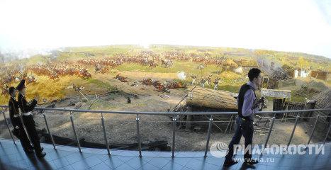 Открытие музея-панорамы Бородинская битва после реконструкции