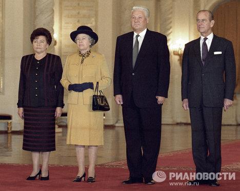 Церемония встречи в Георгиевском зале Большого Кремлевского дворца