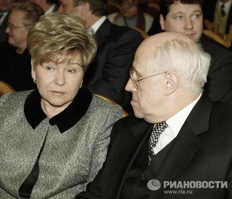 Чествование музыканта Ростроповича в связи с его 70-летием в Большом зале консерватории