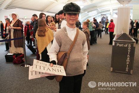 Пассажиры мемориального круиза по маршруту «Титаника»