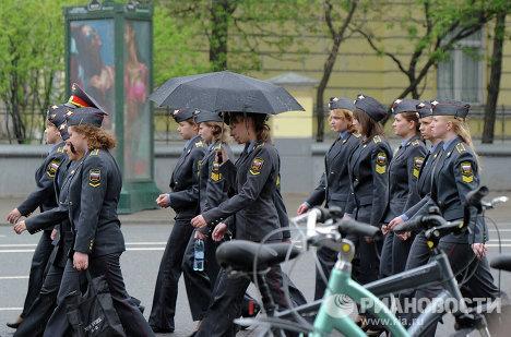 Подготовка к Маршу миллионов в Москве