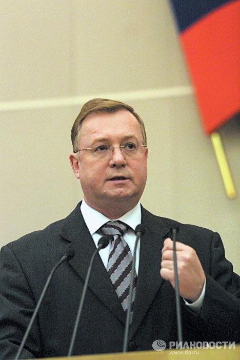 Председателдь Счетной палаты РФ С.Степашин