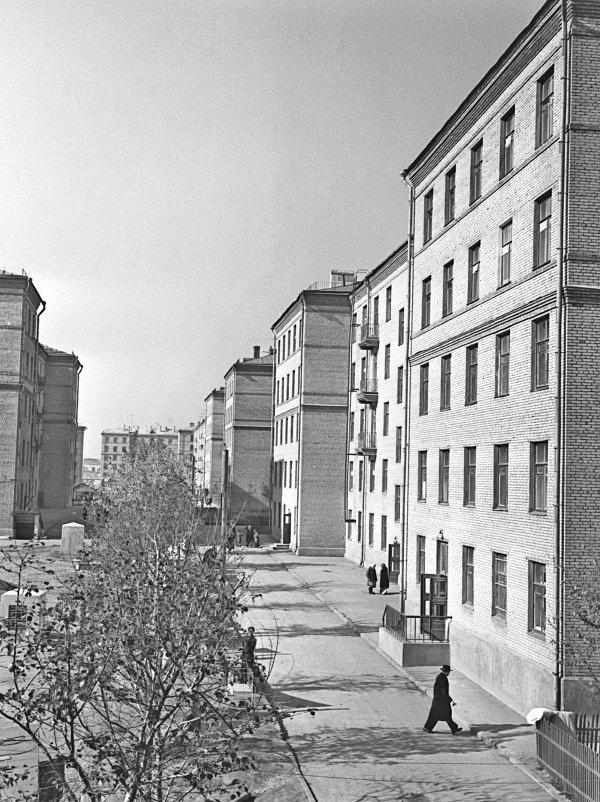 Жилые дома для рабочих в Москве