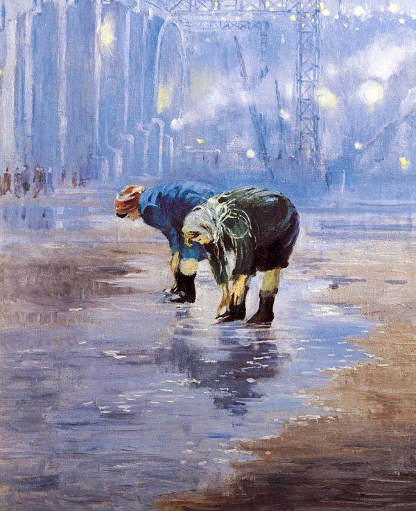 Картина Ю.Пименова Франтихи