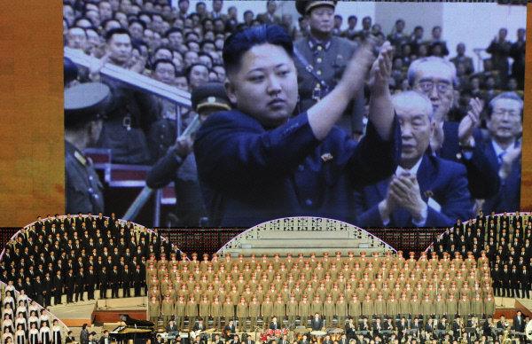 Торжественный концерт в честь столетия со дня рождения основателя КНДР Ким Ир Сена