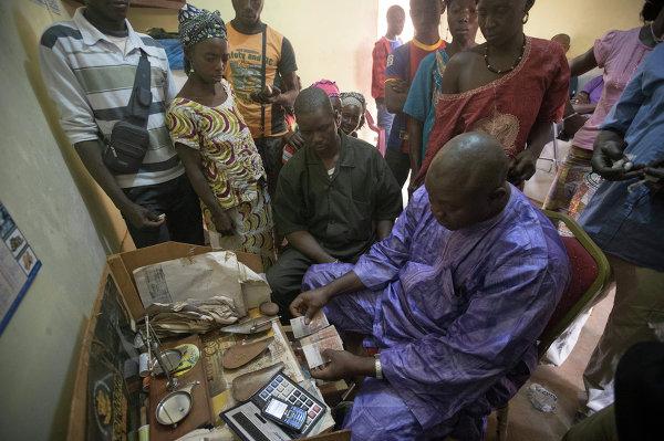 Добыча золота в Мали