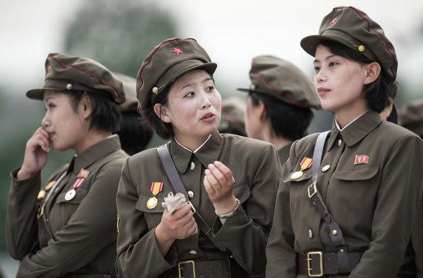 Военнослужащие на 60-й годовщине окончания Корейской войны