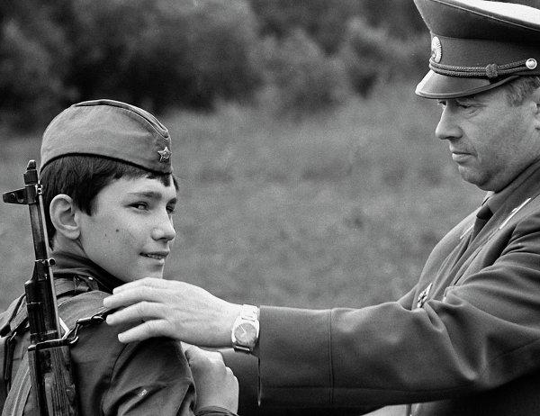 Командир и суворовец