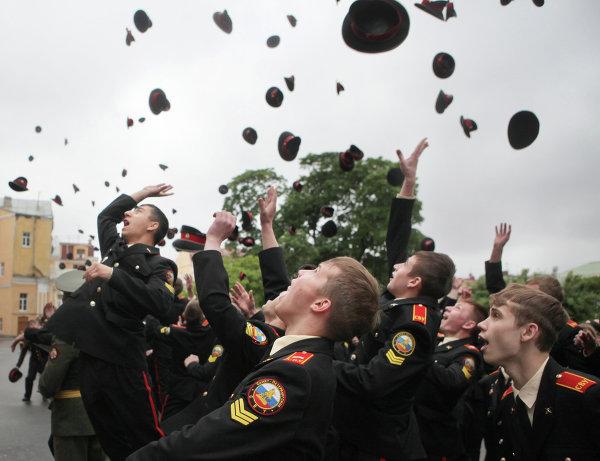 Выпуск в Санкт-Петербургском суворовском военном училище