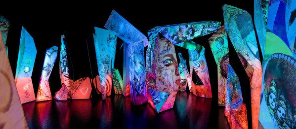 Инсталляция Отражения в музее Swarovski Kristallwelten