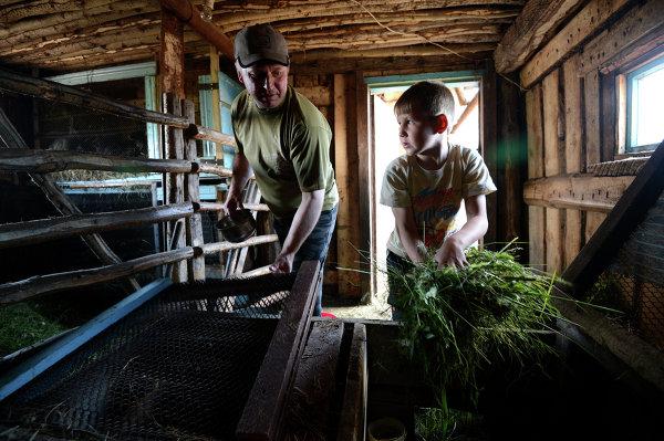 Учителя села Иванкино усыновили воспитанников детдома