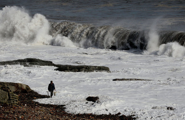 Последствия тайфуна Санба во Владивостоке