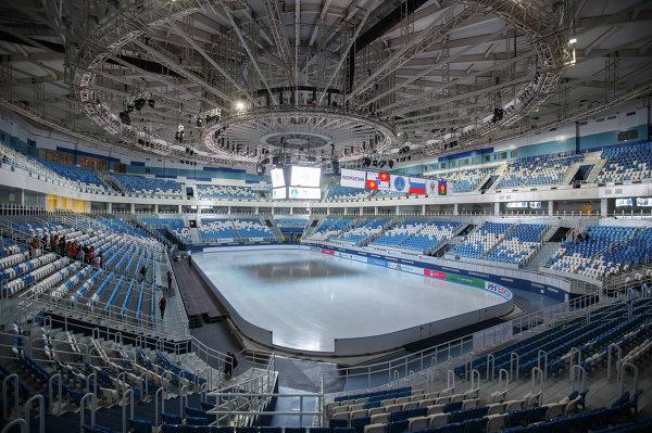Олимпийские объекты Прибрежного кластера в Сочи. Дворец Зимнего Спорта Айсберг