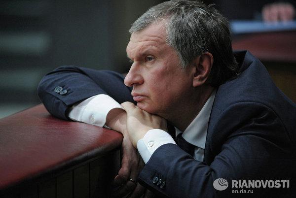 Заместитель председателя правительства РФ Игорь Сечин