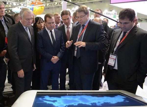 Д.Медведев на Московском международном форуме Открытые инновации