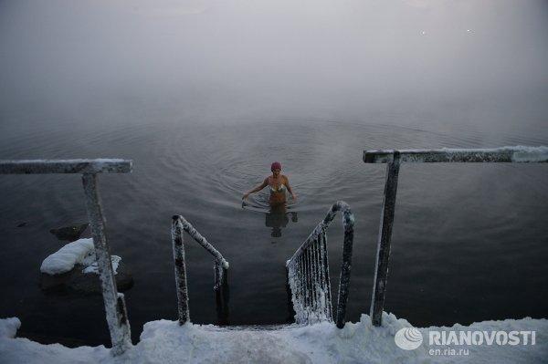Норильский клуб зимнего плавания Умка
