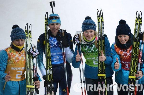 Женская сборная Украины по биатлону