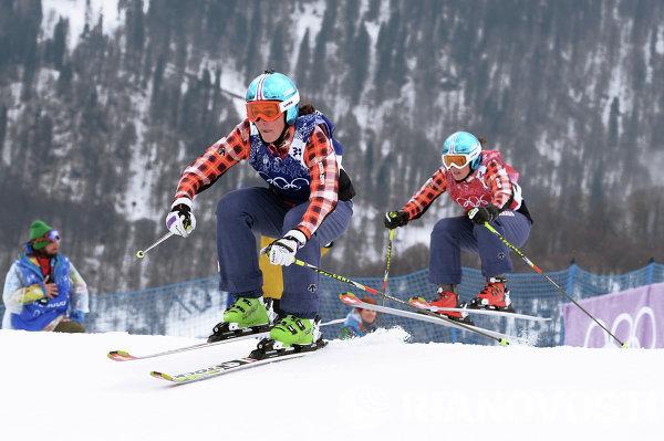 Олимпиада 2014. Фристайл. Женщины. Ски-кросс