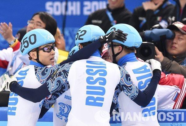 Олимпиада 2014. Шорт-трек. Мужчины. Эстафета