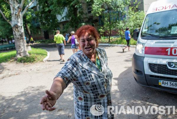 Ukraine: Slaviansk pilonnée par l'artillerie