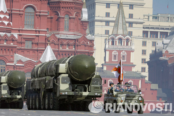 Le missile intercontinental russe Topol