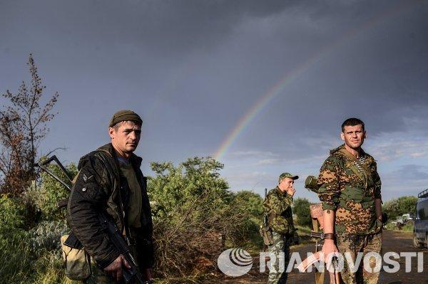 Батальон Призрак народного ополчения Луганска