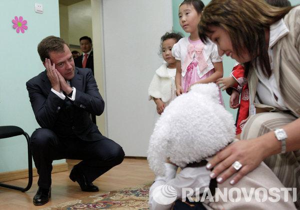 Дмитрий Медведев посетил Улан-Баторский филиал Российской экономической академии им. Г. В. Плеханова
