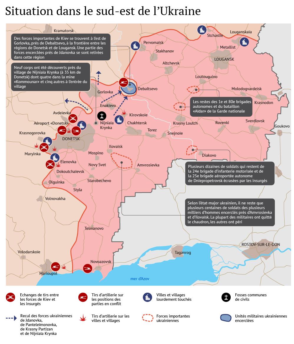 Ukraine: situation dans le Donbass pendant le cessez-le-feu