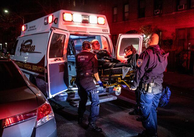 Des médecins à New York