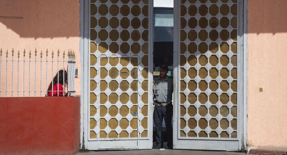 La prison d'Oukacha, à Casablanca au Maroc