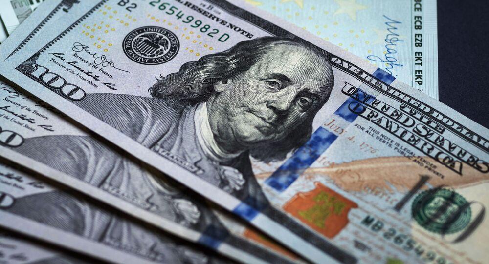 Dollars et euros, image d'illustration