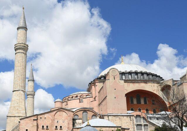 Ancienne basilique Sainte-Sophie d'Istanbul