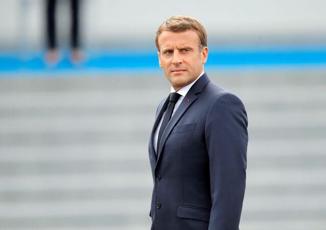 Emmanuel Macron (archives)