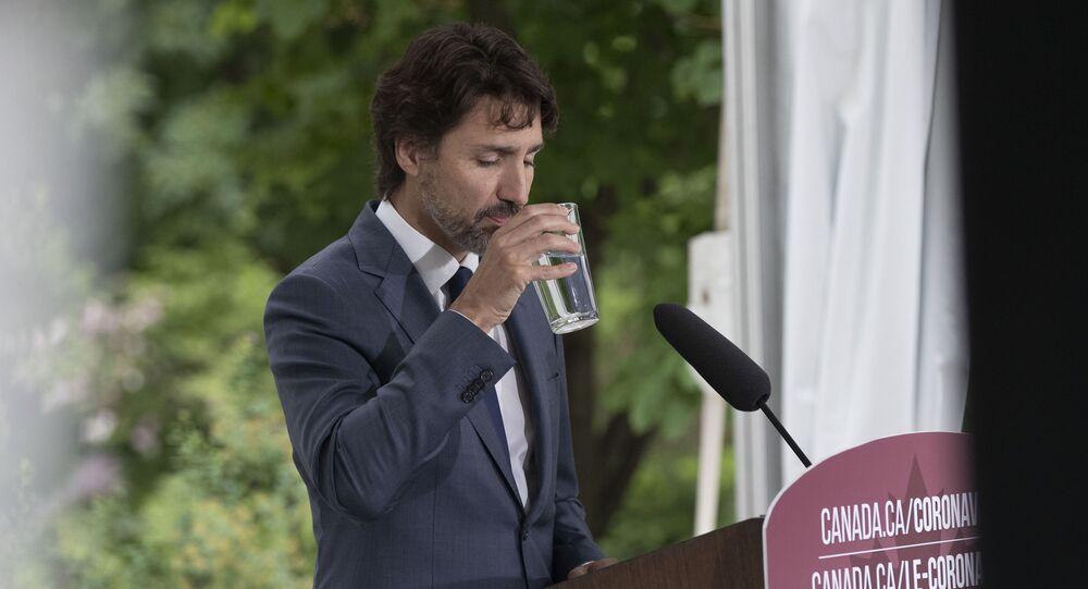 Justin Trudeau, le 25 juin 2020 (image d'illustration)