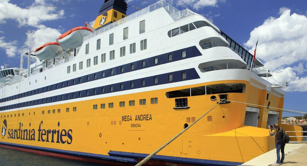 Cruise-ferry Mega Andrea