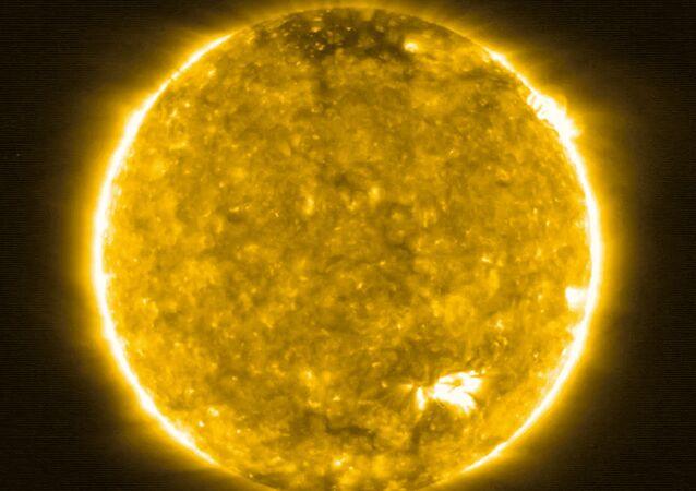 Une photo du Soleil prise par la sonde Solar Orbiter