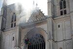 Incendie à la cathédrale de Saint-Pierre-et-Saint-Paul de Nantes, 18 juillet 2020