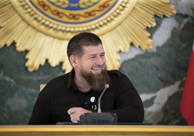 Ramzan Kadyrov, dirigeant de la république russe de Tchétchénie