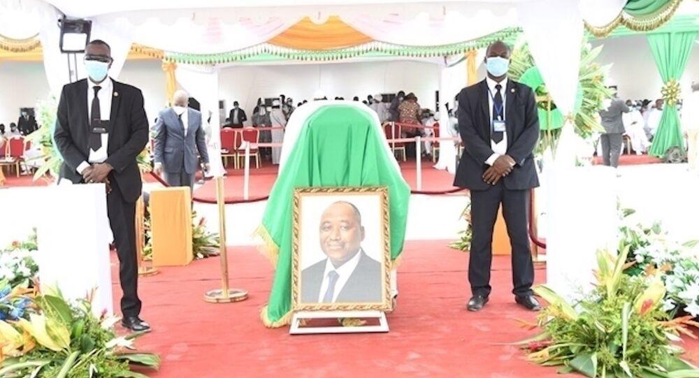 L'hommage à Amadou Gon Coulibaly, en Côte d'Ivoire