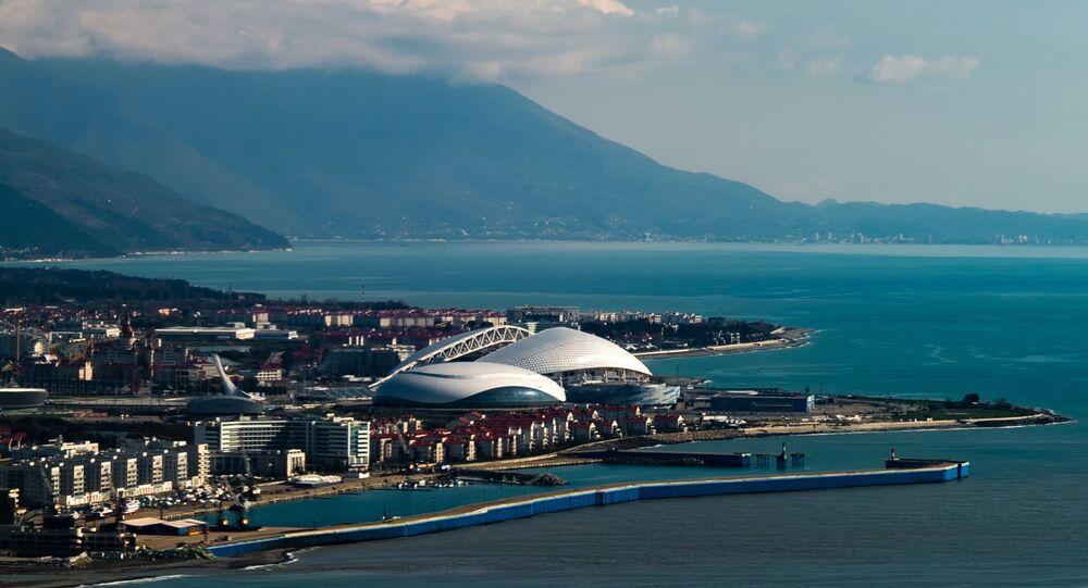 Parc olympique à Sotchi